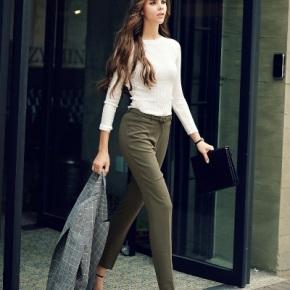 Quần Âu nữ công sở cực đẹp, nhiều kiểudáng