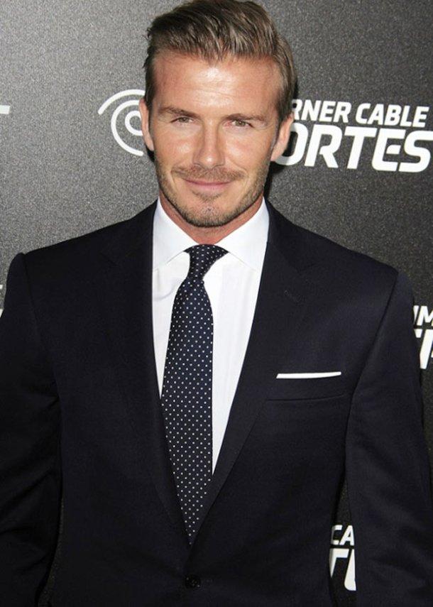 David Beckham - Quý ông mặc Vest đẹp nhất thế giới