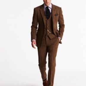 Cách phối màu quần áo với sắc nâu namtính