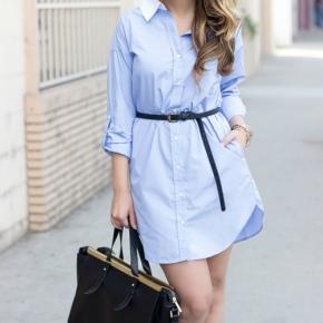 Váy sơ mi: Đẹp từ công sở đến đườngphố