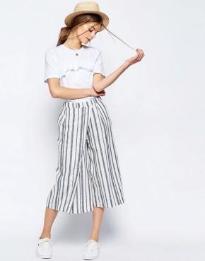 8 kiểu quần culottes bạn gái nên có trong tủđồ