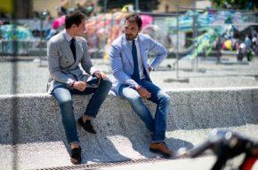 Quần jeans & áo blazer nam: Mặc sao chođúng?