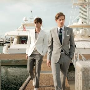 Suit nam màu xám và 8 quy tắc cơbản
