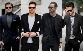 Bạn đã biết cách mặc suit nam may đo màu đenchưa?
