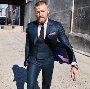 """""""Gã điên"""" Conor McGregor và gu thời trang ấntượng"""